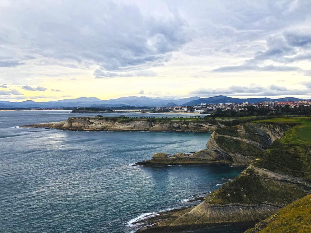Vista de Santander desde Cabo Mayor