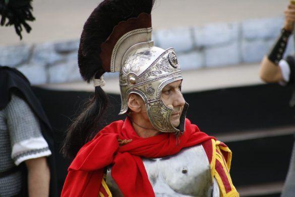 Detalle Soldado Romano