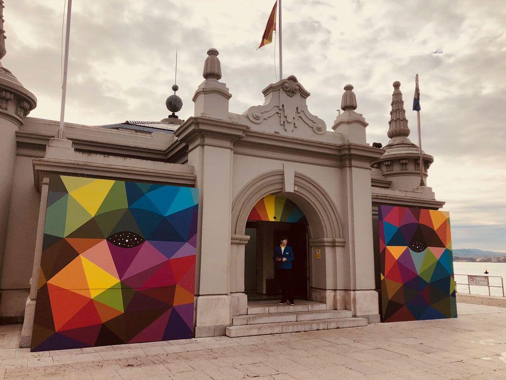 Exposición temporal Okuda en Santander