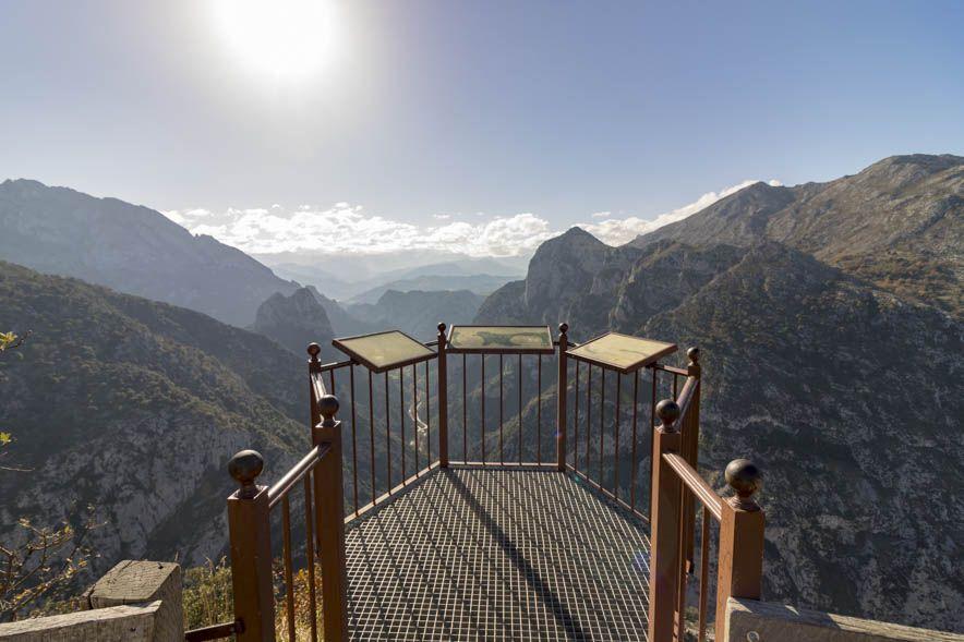 Mirador de Santa Catalina Vista frontal