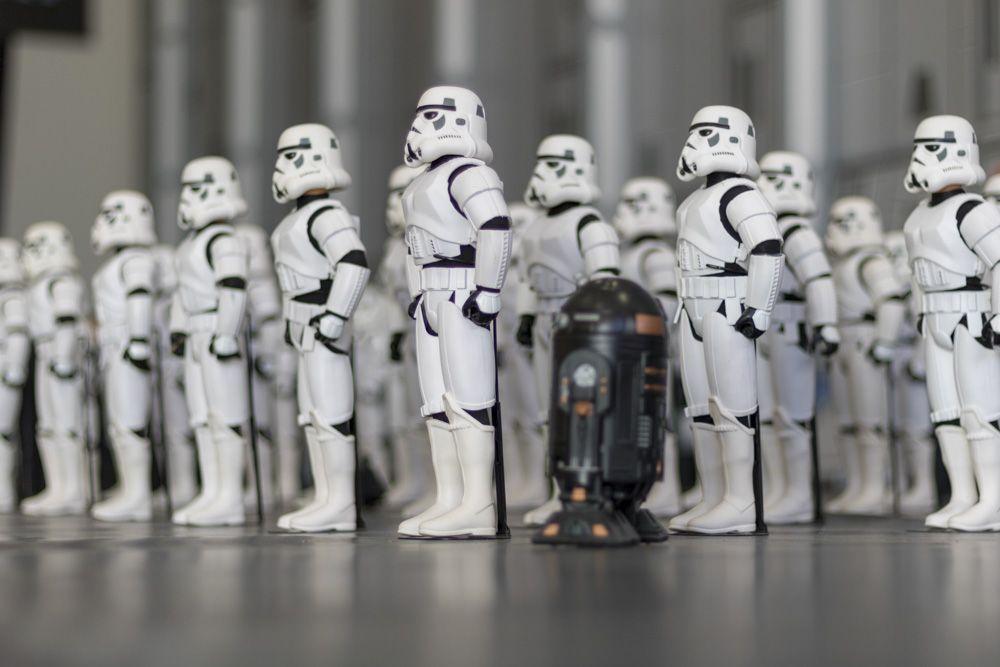 Grupo de guardia imperial de Star Wars