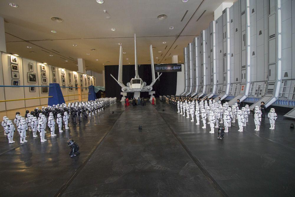 Panoramica de montaje Star Wars