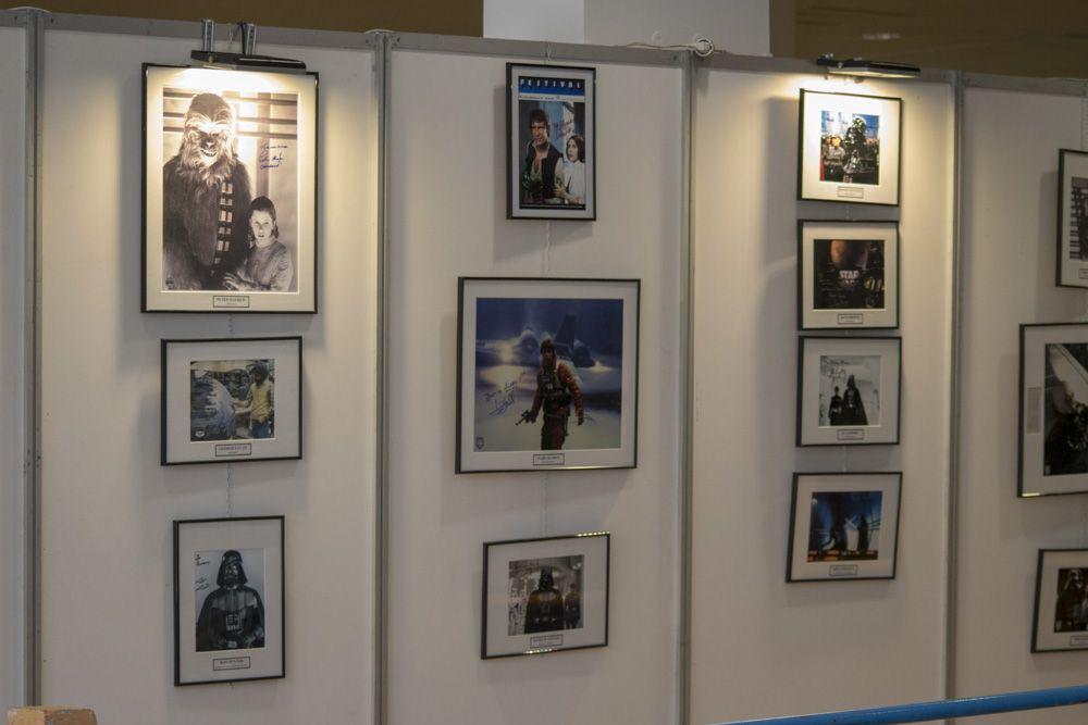Panoramica de los autografos de Star Wars