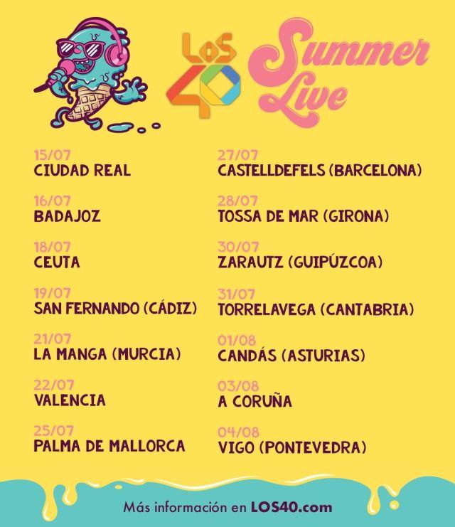 Los40 summer live