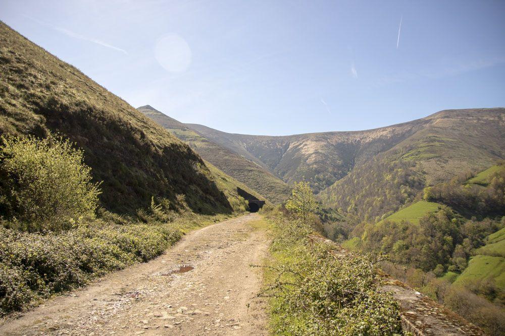 panorámica de las vistas de la ruta
