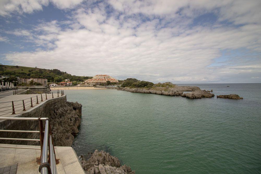 detalle paseo marítimo de Isla