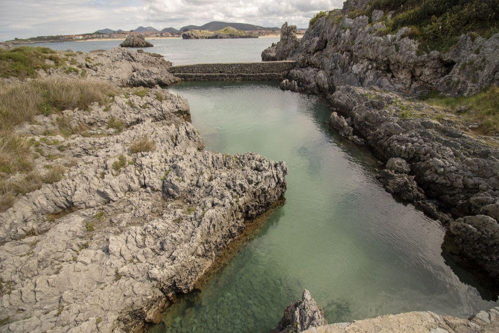 Piscinas marinas en Isla