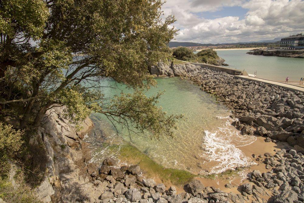 Calas de aguas turquesas
