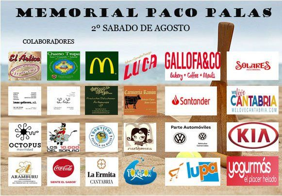 Cartel Memorial Paco Palas