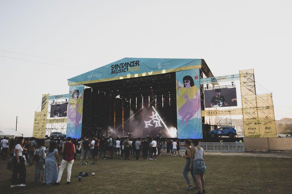 Vista general del escenario principal