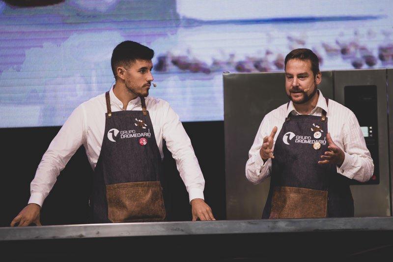 Ponencia la evolución que aglutina adeptos the Coffe Revolution by Luis Blanco & Raul Alonso de Grupo Dromedario