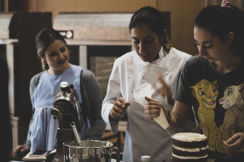 Taller practico de cocina Americana by olga Obregón
