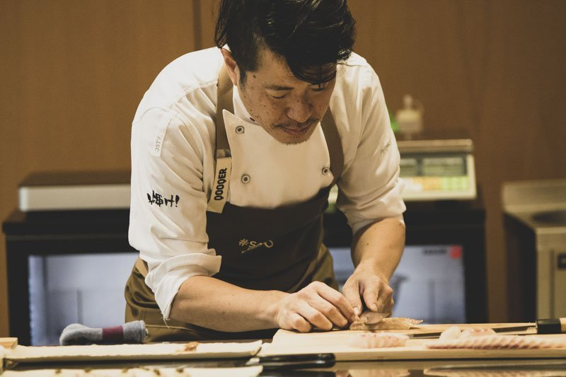 Taller comida japonesa by Hideki Matsuhisa