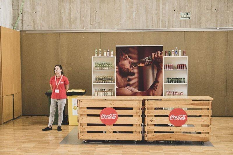 Stand Colca-Cola