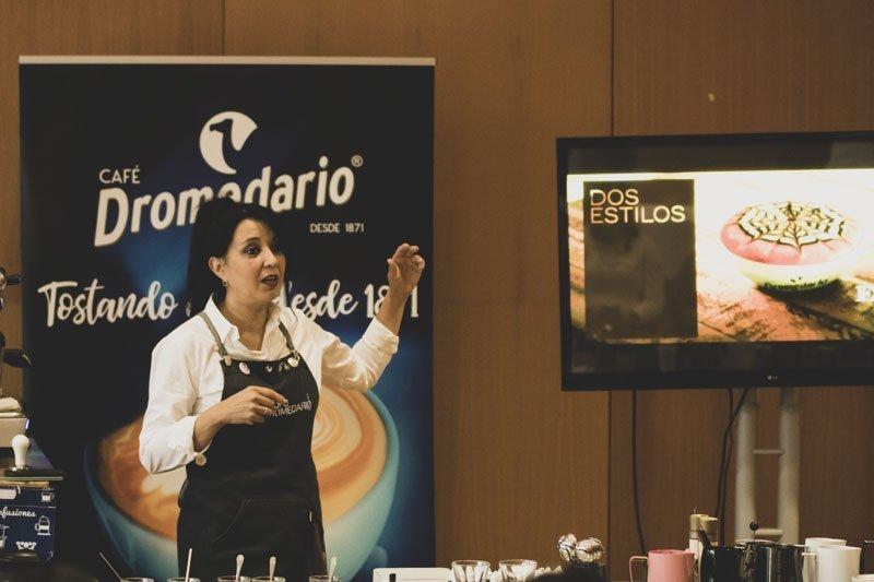 Taller de Latte Art by Karen Quiroga